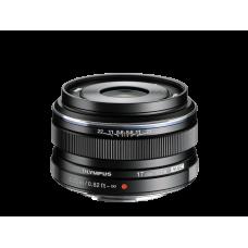 Объектив Olympus M.ZUIKO DIGITAL 17mm 1:1.8 черный (V311050BE000)
