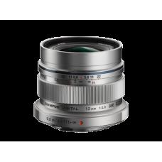 Объектив Olympus M.ZUIKO DIGITAL ED 12mm 1:2.0 серебристый (V311020SE000)