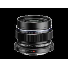 Объектив Olympus M.ZUIKO DIGITAL ED 12mm 1:2.0 черный (V311020BE001)