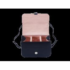 Кожаная плечевая сумка Olympus Black like my Dress (E0410226)