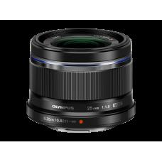 Объектив Olympus M.ZUIKO DIGITAL 25mm 1:1.8 черный (V311060BW000)