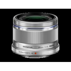 Объектив Olympus M.ZUIKO DIGITAL 25mm 1:1.8 серебристый (V311060SE000)