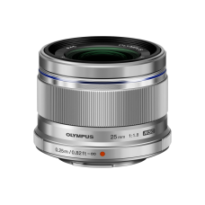 Объектив M.ZUIKO DIGITAL 25mm f1.8 (W) серебристый ES-M2518(W) (V311060SW000)