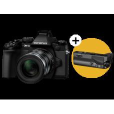 Фотоаппарат Olympus OM-D E-M1 Kit с объективом 12–50 черный (V207015BE000)