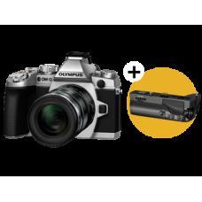 Фотоаппарат Olympus OM-D E-M1 Kit с объективом 12-50 серебристый (V207015SE000)