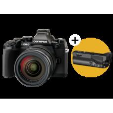 Фотоаппарат Olympus OM-D E-M1 Kit с объективом 12–40 черный (V207017BE000)