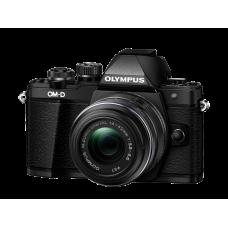 Фотоаппарат Olympus OM-D E-M10 Mark II с 14-42IIR черный (V207051BE000)