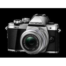 Фотоаппарат Olympus OM-D E-M10 Mark II с 14-42IIR серебристый (V207051SE000)
