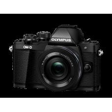 Фотоаппарат Olympus OM-D E-M10 Mark II Pancake Zoom Kit с 14-42 EZ черный (V207052BE000)