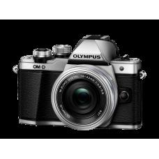 Фотоаппарат Olympus OM-D E-M10 Mark II Pancake Zoom Kit с 14-42 EZ серебристый (V207052SE000)