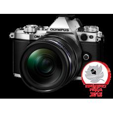 Фотоаппарат Olympus OM-D E-M5 Mark II 1240 Kit с объективом 12-40 1:2.8 серебристый (V207041SE000)