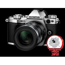 Фотоаппарат Olympus OM-D E-M5 Mark II 1250 Kit с объективом 12-50 1:3.5-6.3 серебристый (V207042SE000)