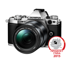 Фотоаппарат Olympus OM-D E-M5 Mark II 1415II Kit с объективом 14-150 1:4-5.6 II серебристый (V207043SE000)