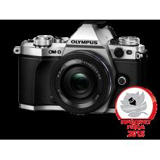 Фотоаппарат Olympus OM-D E-M5 Mark II Pancake Zoom Kit с объективом 14-42 EZ серебристый (V207044SE000)
