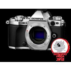 Фотоаппарат Olympus OM-D E-M5 Mark II Body серебристый (V207040SE000)