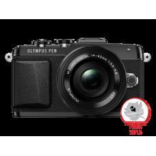 Фотоаппарат Olympus PEN E-PL7 Pancake Kit с 14-42 EZ черный (V205073BE001)