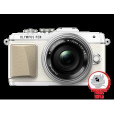 Фотоаппарат Olympus PEN E-PL7 Pancake Kit с 14-42 EZ белый (V205073WE001)