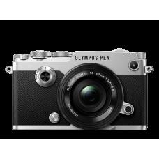 Фотоаппарат Olympus PEN-F Pancake Zoom Kit с объективом 14-42 EZ серебристый (V204061SE000)