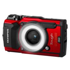 Фотоаппарат Olympus Tough TG-5 красный  в комплекте с LG-1 (V104190REK000)