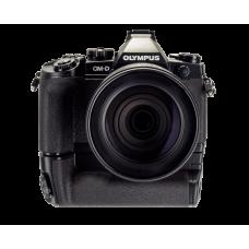 Фотоаппарат Olympus OM-D E-M1 с объективом 12–100 и ручкой HLD-7 черный (V207010BEK1000)