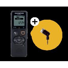 Диктофон Olympus VN-541PC (4 Гб) черный с мономикрофоном ME52 (V405281BE020)